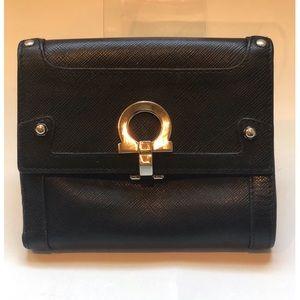 {Salvatore Ferragamo} Leather Wallet
